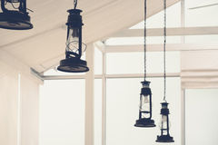 Retro Electric Lamp Royalty Free Stock Photos