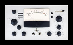 Retro electronic control panel Stock Photography