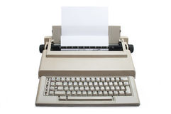 Retro Electronic typewriter Stock Images