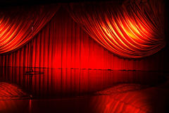 Retro elegant theater Royalty Free Stock Photography