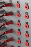 Retro- elektrische Schalttafel Lizenzfreie Stockfotografie