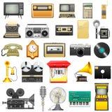 Retro elektronika royalty-vrije illustratie