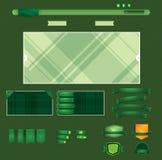 Retro elemento di Web illustrazione vettoriale