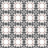 Retro elements background abstract geometric seamless pattern Stock Images