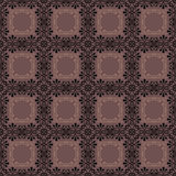 Retro elements background abstract geometric seamless pattern ch Stock Photography