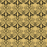 Retro elements background abstract geometric seamless pattern pu Royalty Free Stock Image