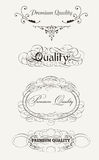 Retro Elements Collection For Calligraphic Design Stock Photo