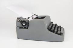 Retro eller tappningskrivmaskin Arkivfoton