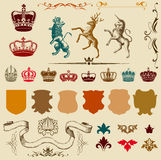 Retro engravings Royalty Free Stock Image