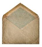 Retro envelop van de stijl postpost grangy geweven document Royalty-vrije Stock Foto