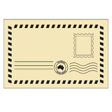 Retro envelope Royalty Free Stock Photos