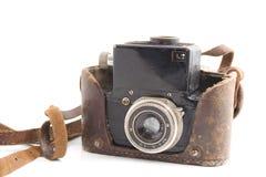 Retro-estilo da câmera da película imagens de stock royalty free