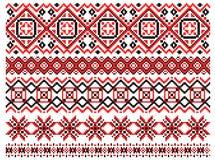 Retro ethnic ornaments Stock Photo
