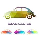 Retro- europäische Autos Lizenzfreies Stockbild
