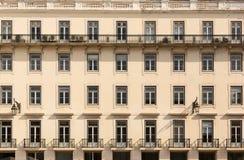 Retro european house Stock Images