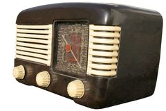 Retro European radio Royalty Free Stock Photography