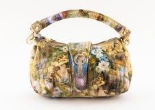 Retro evening clutch bag stock image