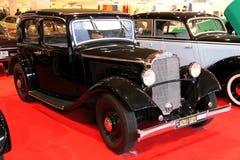 Retro & Exotica Motor Show Stock Photo
