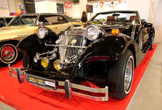 Retro & Exotica-Motorshow Royalty-vrije Stock Afbeelding