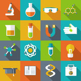 Retro experiments in a science chemistry Royalty Free Stock Photography