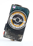Retro exposure meter Royalty Free Stock Images