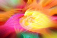 Retro färgrika abstrakta aktivitet och virvlar royaltyfri foto