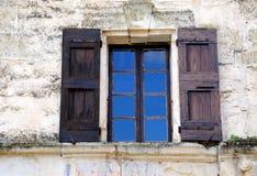 retro fönster Arkivbild
