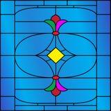 retro fönster för design Arkivfoto