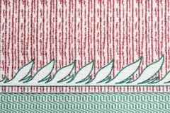 Retro fabric Stock Image