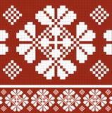 Retro fabric ornament Royalty Free Stock Photo