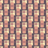 Retro fabric. Seamless vector illustration inspired by the style of 60s royalty free illustration