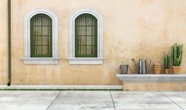 retro facade royaltyfri fotografi