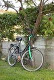 Retro- Fahrrad Lizenzfreie Stockfotografie