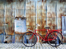 Retro- Fahrrad Stockfotos