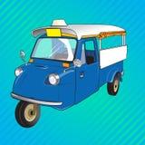 Retro- Fahrzeug Lizenzfreie Stockbilder