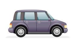 Retro Family Minivan Car Icon  Realistic 3d Design Vector Illustration Royalty Free Stock Photos