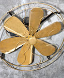 Retro fan. Royalty Free Stock Images