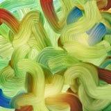 Retro- Farbenhintergrund Lizenzfreies Stockbild