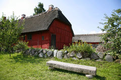 Retro farm Royalty Free Stock Images
