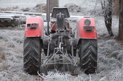 Retro farm tractor Stock Images