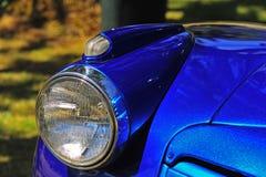 Retro faro automobilistico fotografia stock