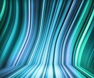 Retro fase blu delle bande illustrazione vettoriale