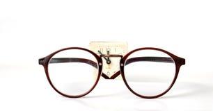 Retro fashion eyeglasses Royalty Free Stock Photos
