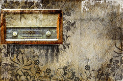 Retro fashion radio Royalty Free Stock Photography