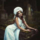 Retro fashion women Stock Photography