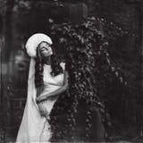 Retro fashion women Royalty Free Stock Photography