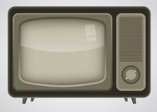 Retro- Fernsehabbildung Lizenzfreies Stockbild