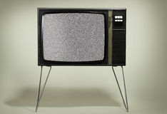 Retro- Fernsehapparat Stockfotografie