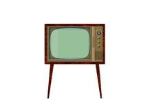 Retro- Fernsehapparat 2 lizenzfreie abbildung