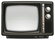 Retro- Fernsehapparat lizenzfreies stockbild